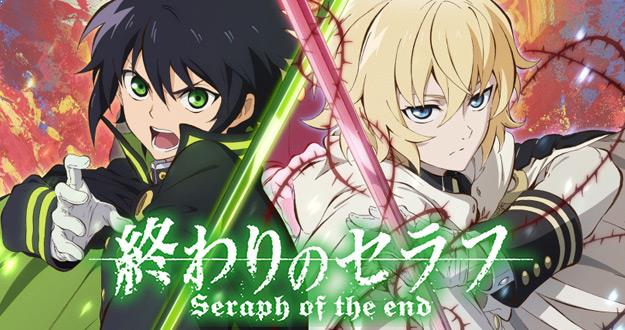 Top Sword Anime Series ( Where the Main Character Uses a Sword) - Owari no Seraph (Seraph of the End)