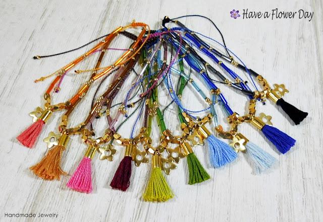 MINIM. Pulseras estilo bohemio · Bohemian bracelets