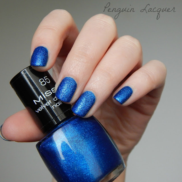 misslyn velvet diamond royal blue mit flasche