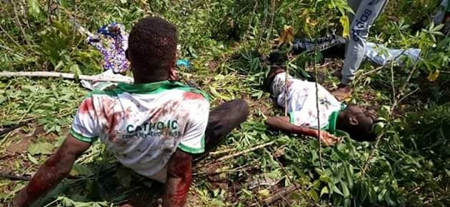 Catholic Corps members involved in auto accident in Akwa Ibom  (photos)