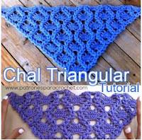 Chal triangulo punto piñas