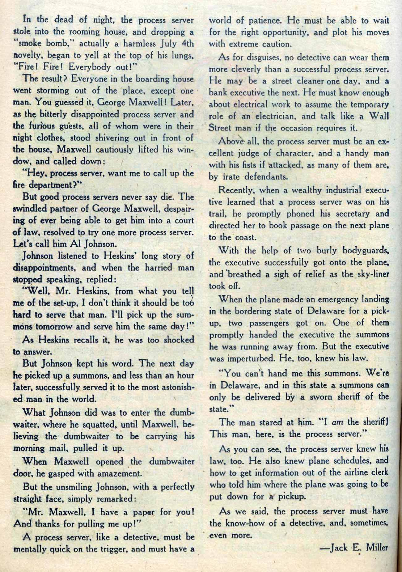 Read online Detective Comics (1937) comic -  Issue #204 - 32