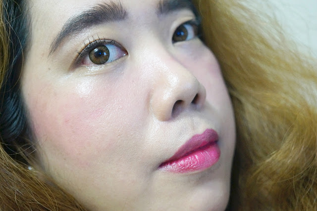 On lips and cheeks: Benefit Cosmetics Gogotint Lip and Cheek Stain