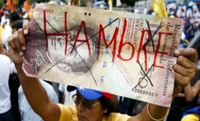 La economía venezolana está en el foso y según la Cepal se contraerá en 16% a finales del 2019