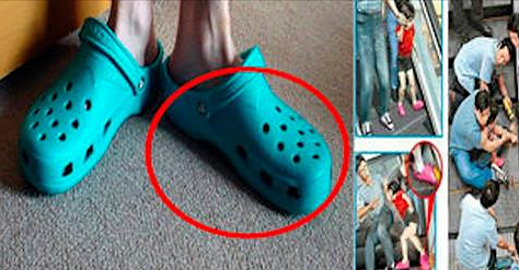 Caution - You Have Another Reason For Not Using Crocs More - Share It So That It Does Not Repeat