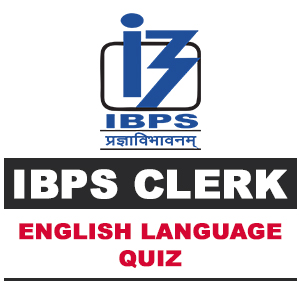 English Language For IBPS Clerk | 07- 11- 18
