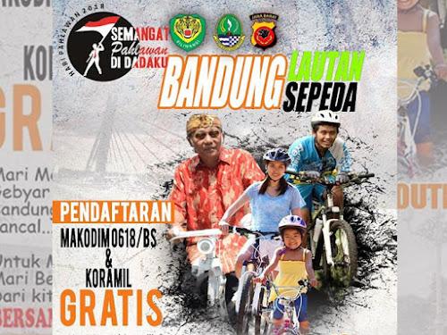 Rute Bandung Lautan Sepeda 2018