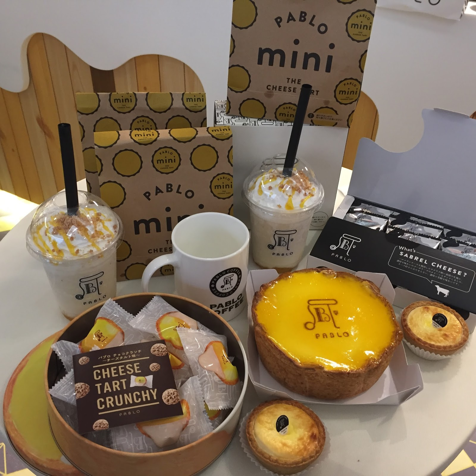 Pablo Freshly Baked Cheesetart In Malaysia At 1 Utama Shopping Sabrel Cheese Black Is A One Stop Concept Store For Cheesy Gastronomical Delights Headlining Its Wide Range Of Mouth Watering Classic Massive Mini Tarts