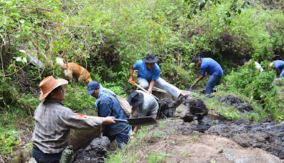 Cleaning of irrigation ditches Pitsé Ditch, Cultural Heritage of the Nation