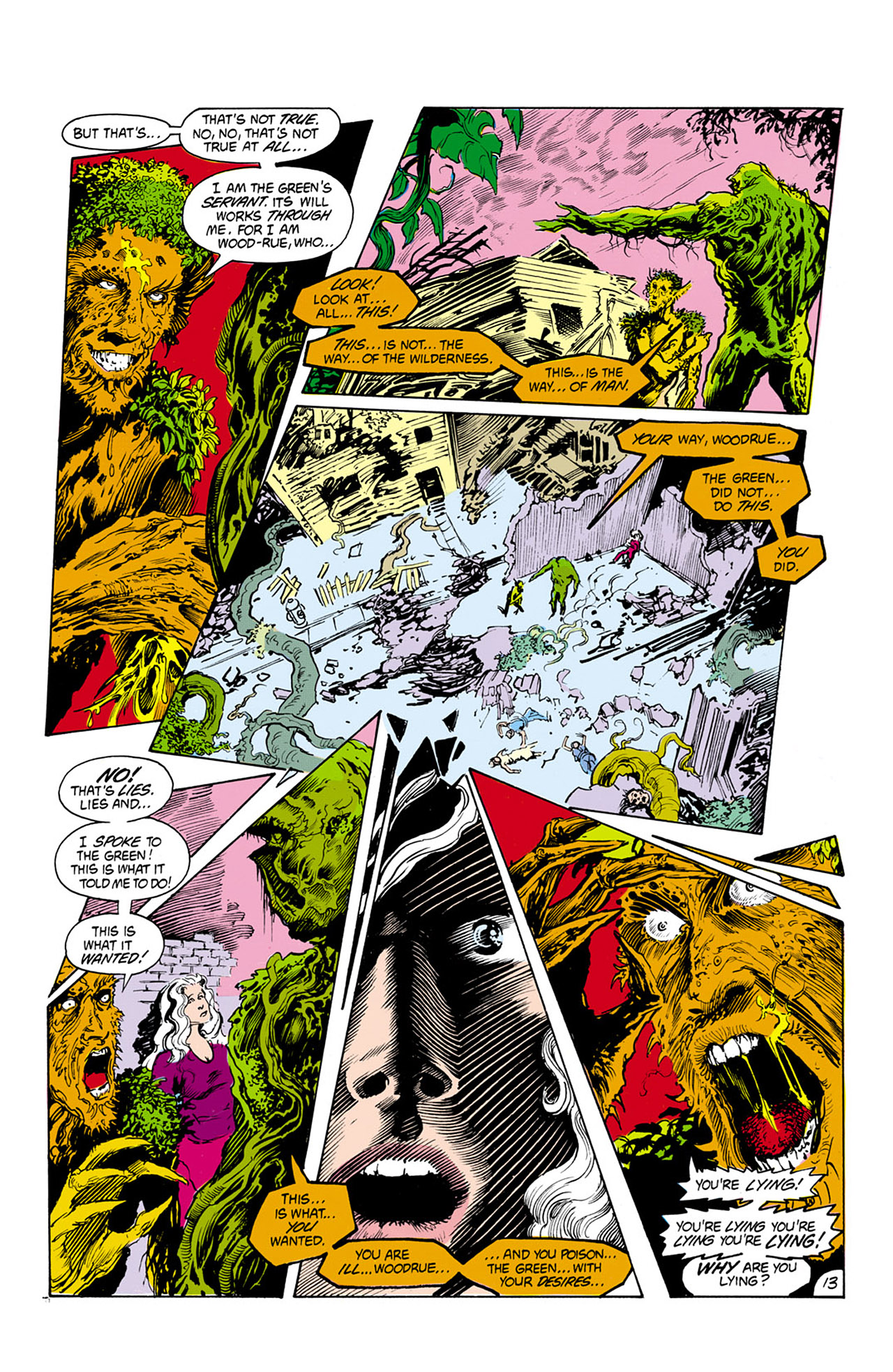 Swamp Thing (1982) Issue #24 #32 - English 14