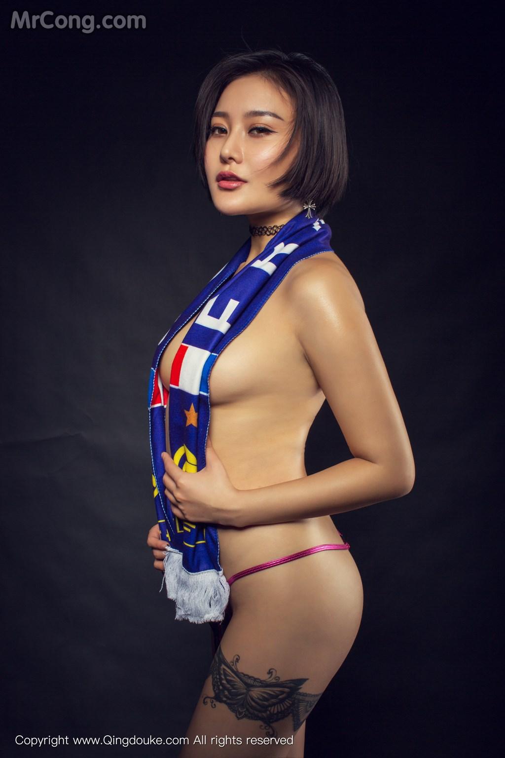 Image MrCong.com-QingDouKe-2016-11-17-Chan-001 in post QingDouKe 2016-11-17: Người mẫu Chan (婵) (44 ảnh)