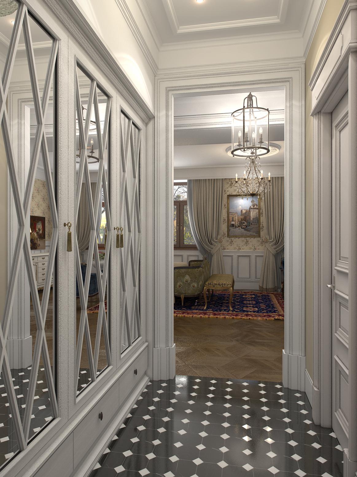 Darya girina interior design march 2015 - Holl