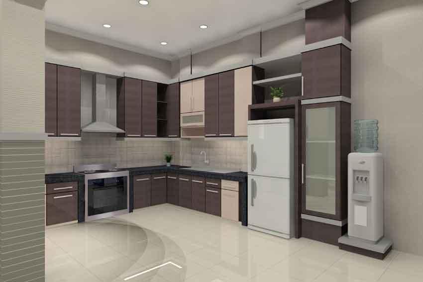 Contoh Gambar Desain Interior Dapur Minimalis | Desain ...
