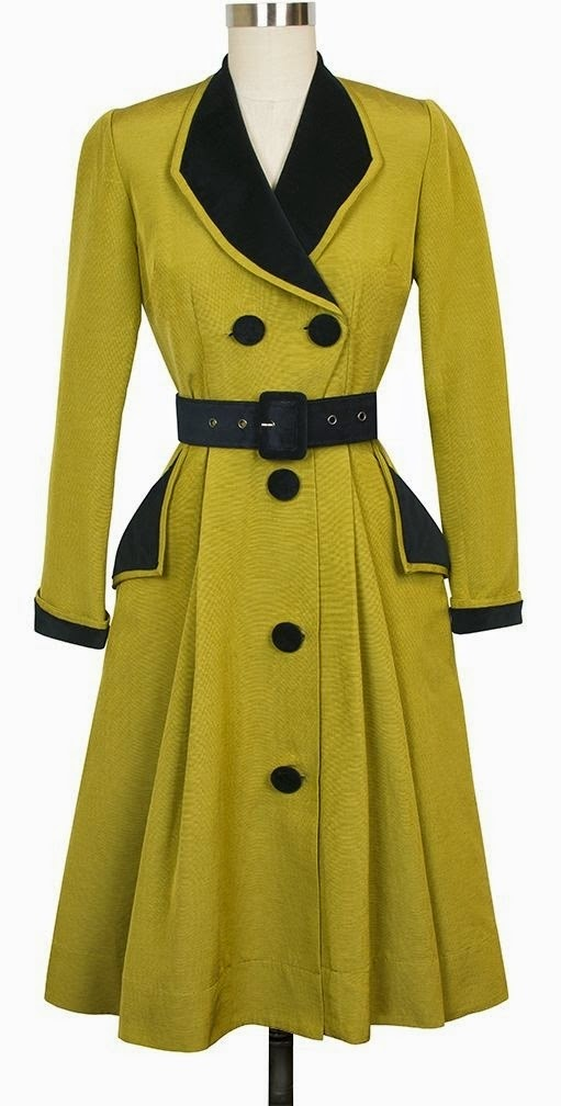 Candice Gwinn Fontaine Coat Dress