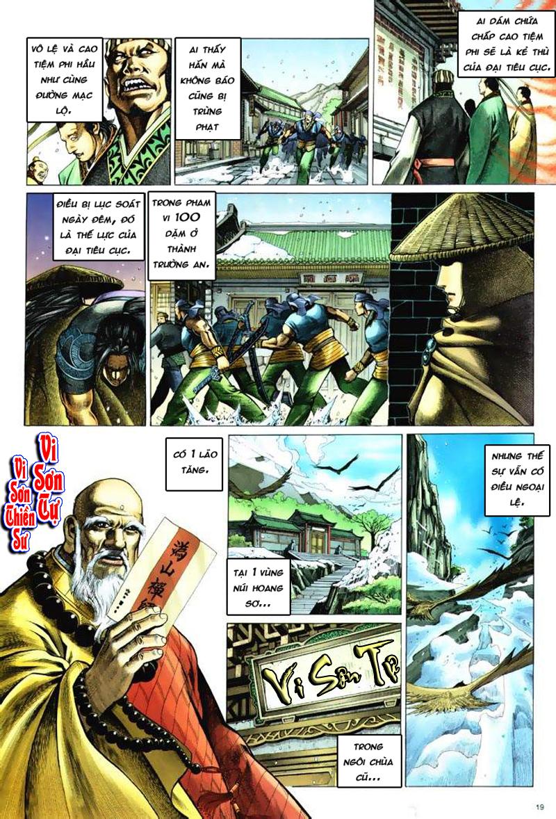 Anh hùng vô lệ Chap 6: Anh hùng hữu lệ trang 19