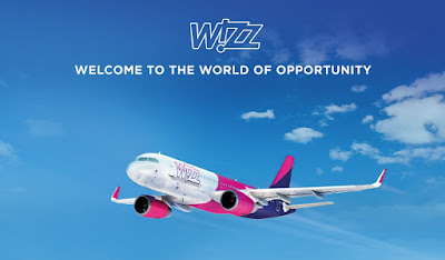 Wizz Air Welcome to the world of opportunity