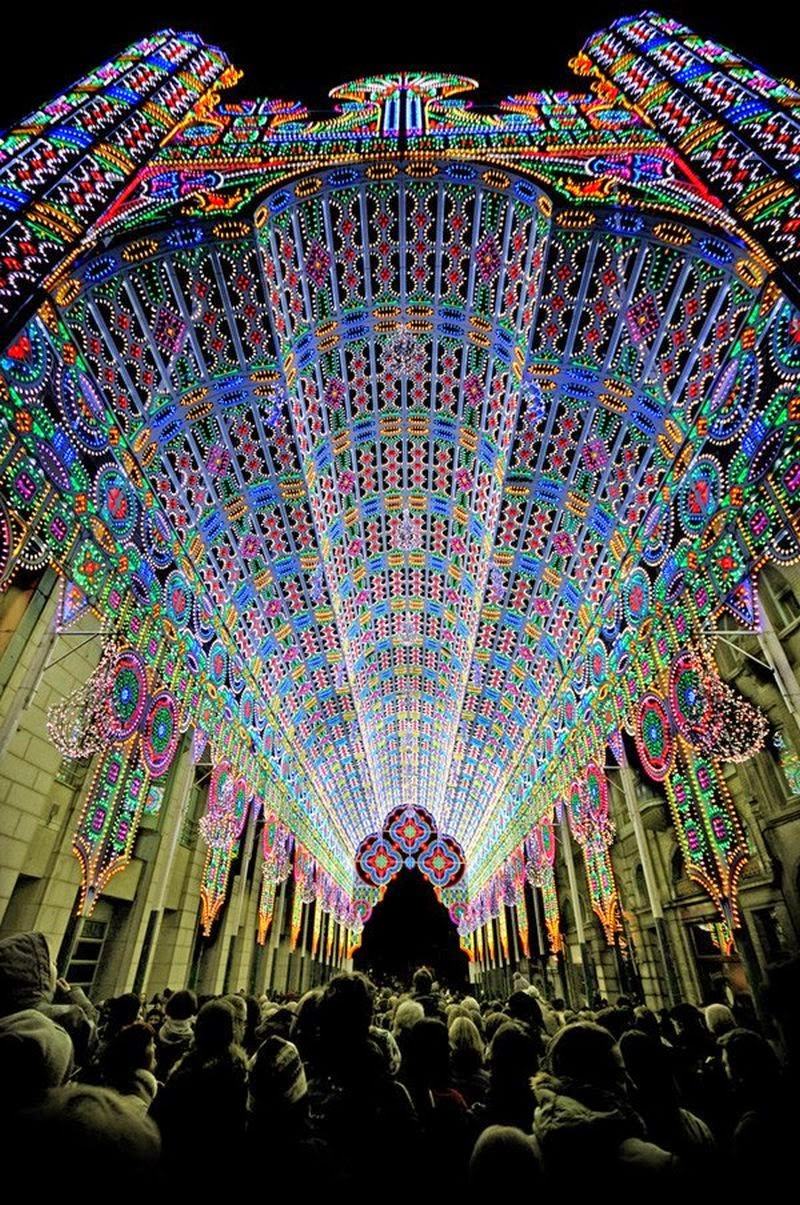 10 Best Places to Holiday in Belgium (100+ Photos) | Festival of Lights - Ghent, Belgium