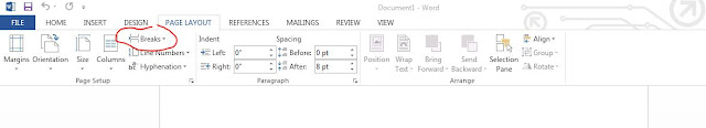 Cara Tukar Page Orientation Tanpa Affect Semua Page Dalam Satu File MS Word, microsoft word, Microsoft words, Ms Word, pandai microsoft word, mudahnya microsoft word