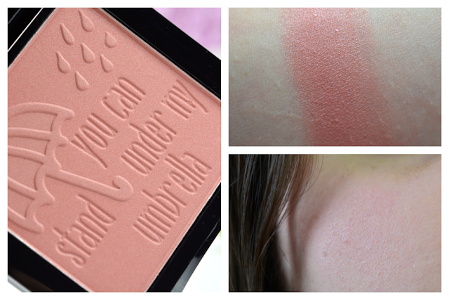 essence me & my umbrella Limited Edition Blush | Swatch & Tragebild