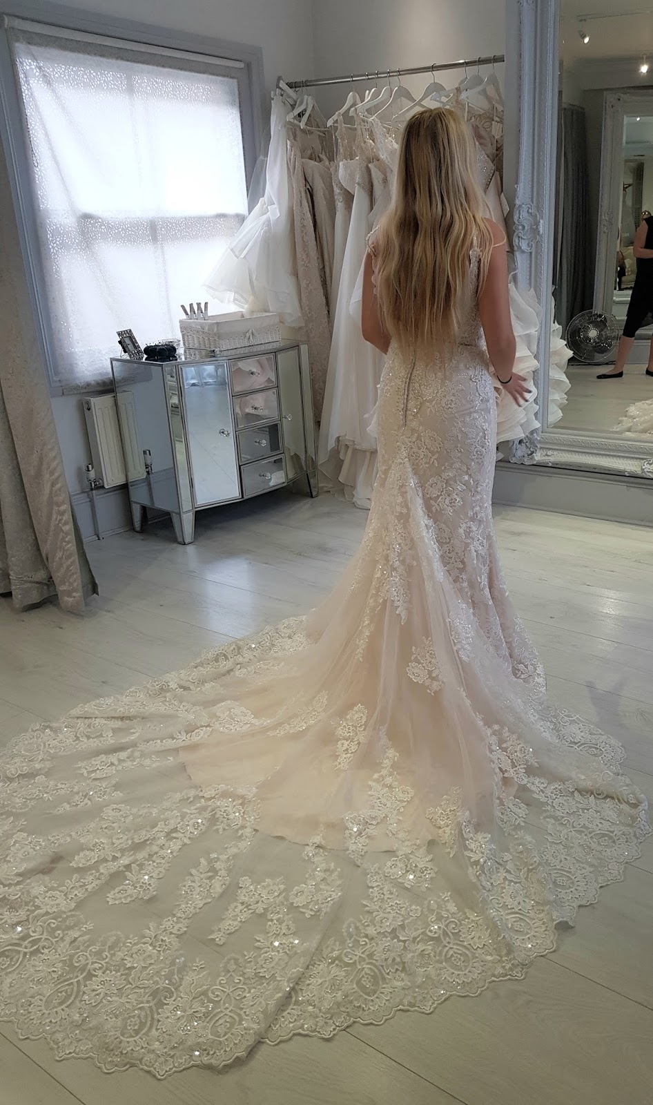 1e170287 Wedding Dress Shopping at Windsor and Eton Brides | Blonde Vision
