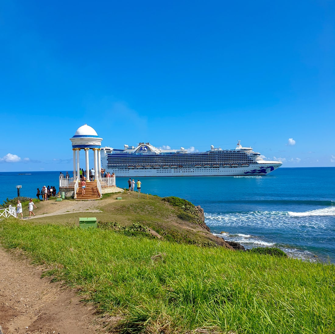 CARRIBEAN PRINCESS CRUISE SHIP Dominikana Puerto Plata