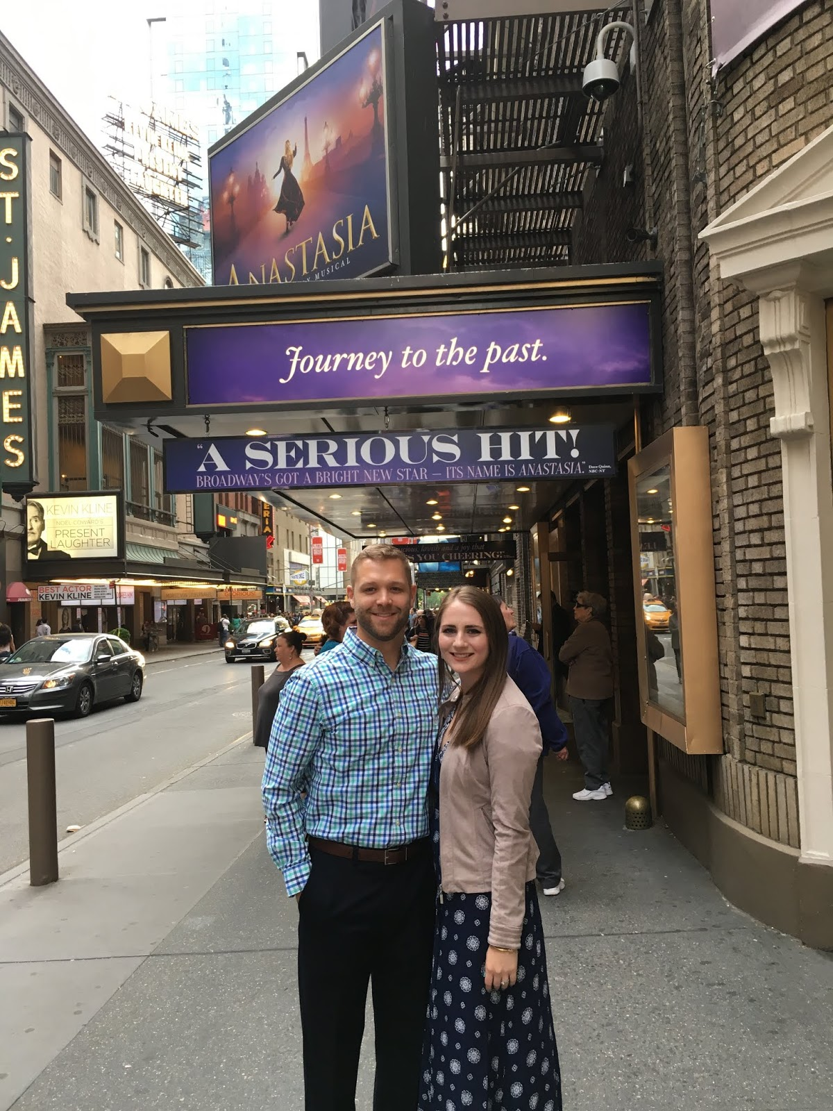 Anastasia the musical in NYC | A Memory of Us Blog