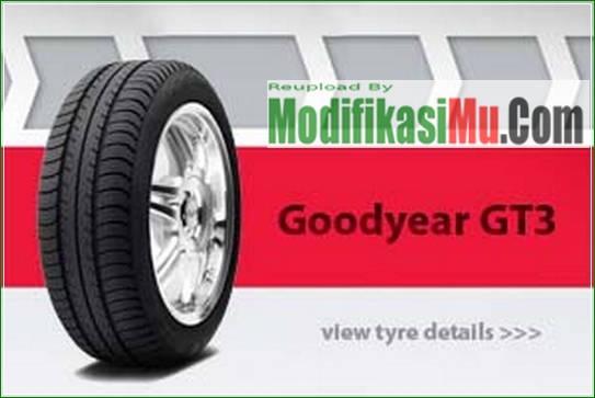 Ban Mobil Goodyear GT3 - Daftar Harga Ban Mobil Goodyear Terbaru Berbagai Ukuran Ring Velg Dan Kualitasnya