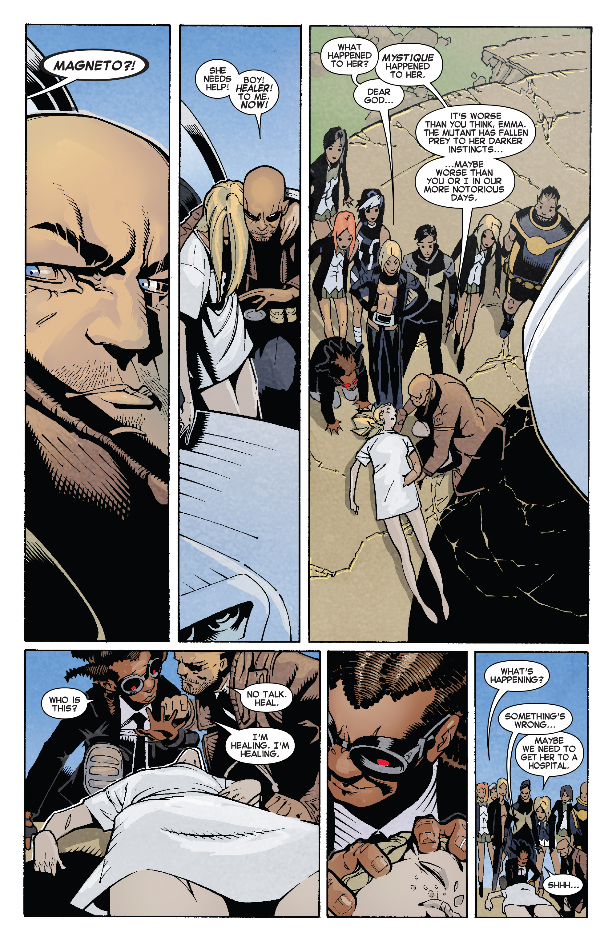 Read online Uncanny X-Men (2013) comic -  Issue # _TPB 4 - vs. S.H.I.E.L.D - 63