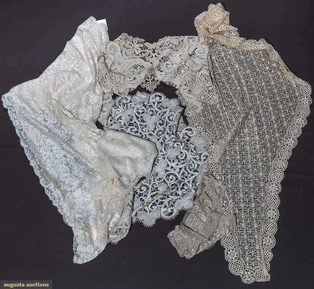 кружевные накидки и платки 19 в