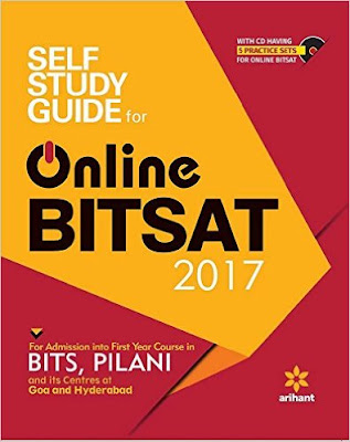 Download Free Arihant's Self Study Guide for Online BITSAT 2017 Book PDF