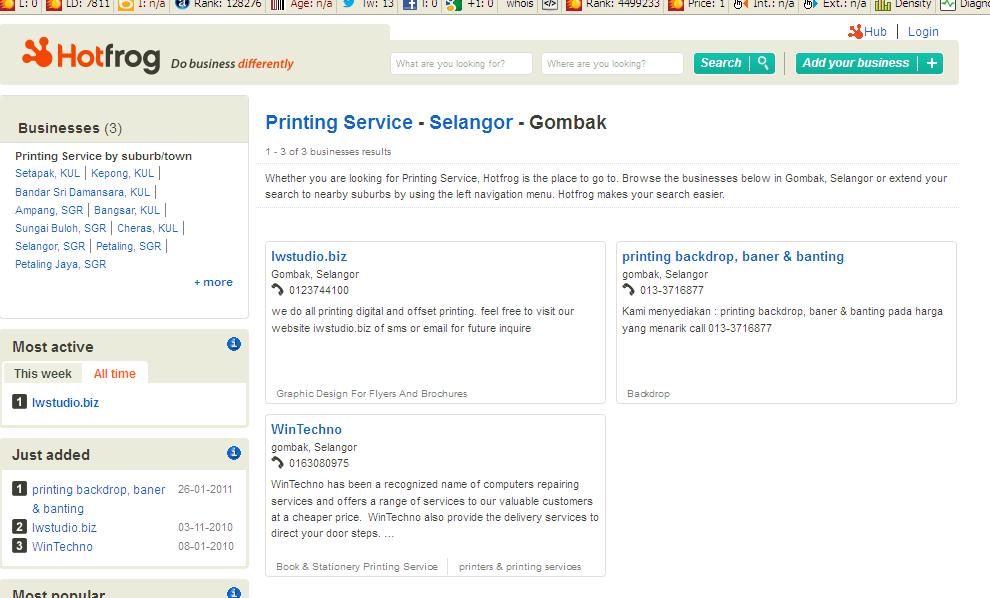 printing gombak
