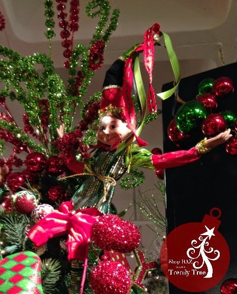 "RAZ 30"" Elf at Trendy Tree"