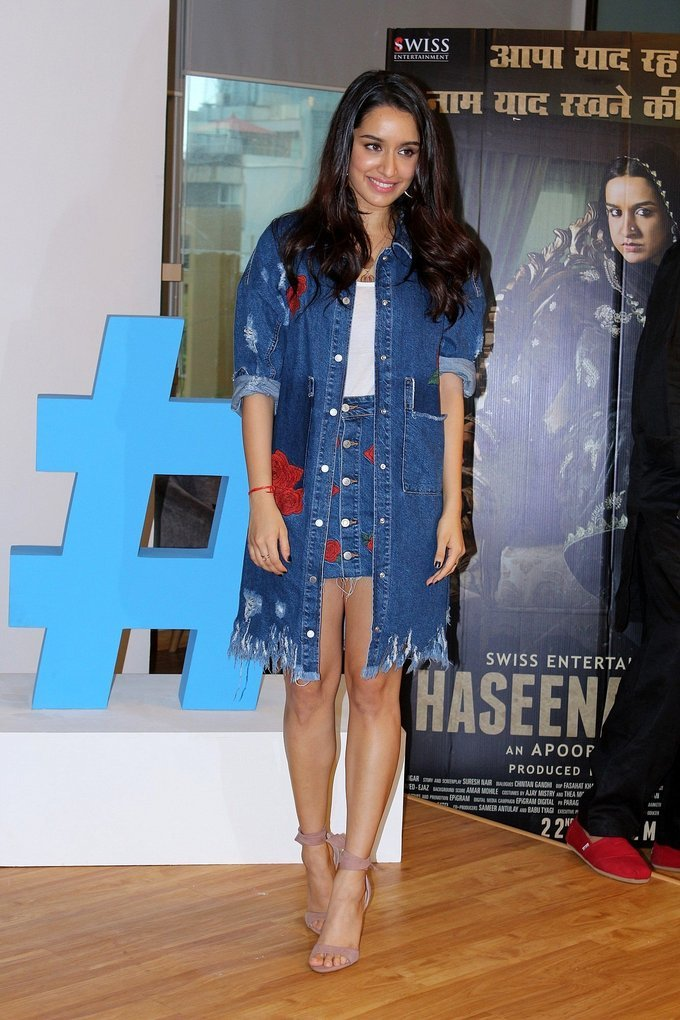 Shraddha Kapoor Launch 'Haseena Parkar' Film Song 'Tere Bina'