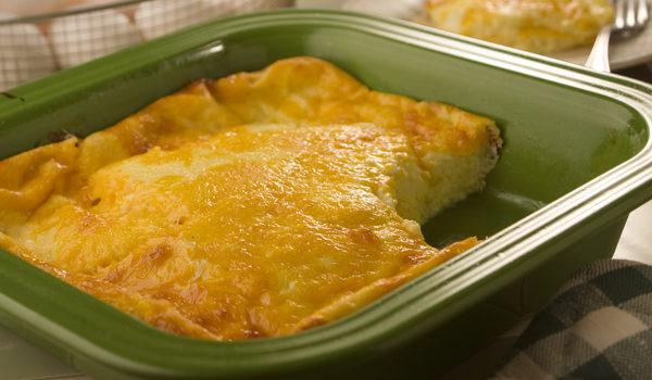 Πανεύκολο σουφλέ τυριού με ψωμί του τόστ