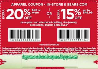 Free Printable Sears Coupons