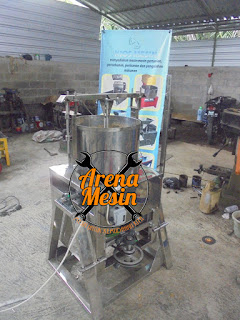 Mesin Pemasta Bubuk Coklat atau Cacao
