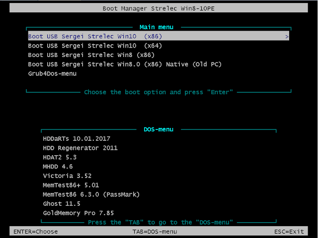 DESKTOP - WinPE 10-8 Sergei Strelec (x86/x64/Native x86) 2017 7