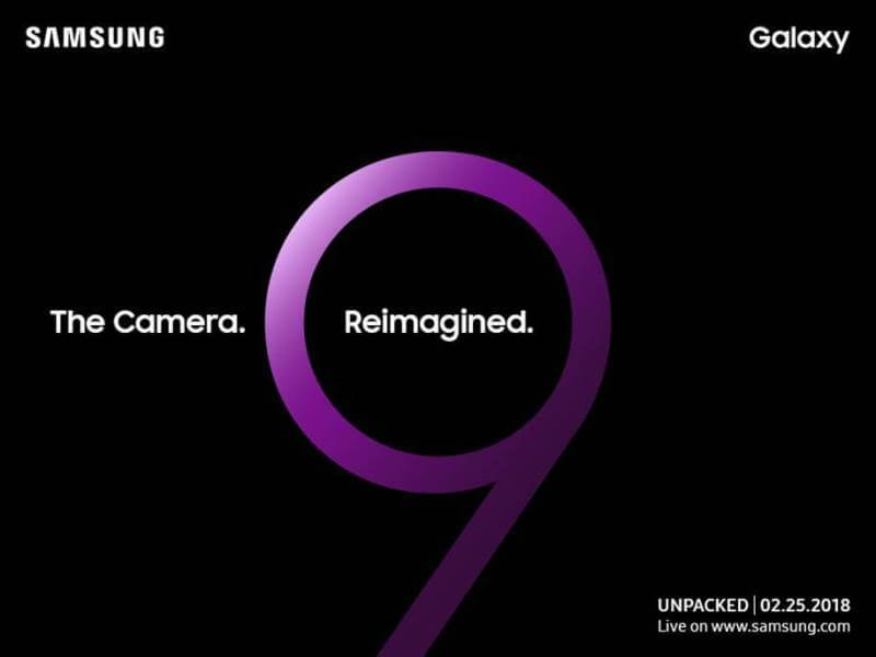 Samsung Galaxy S9, S9+ are coming on February 25!