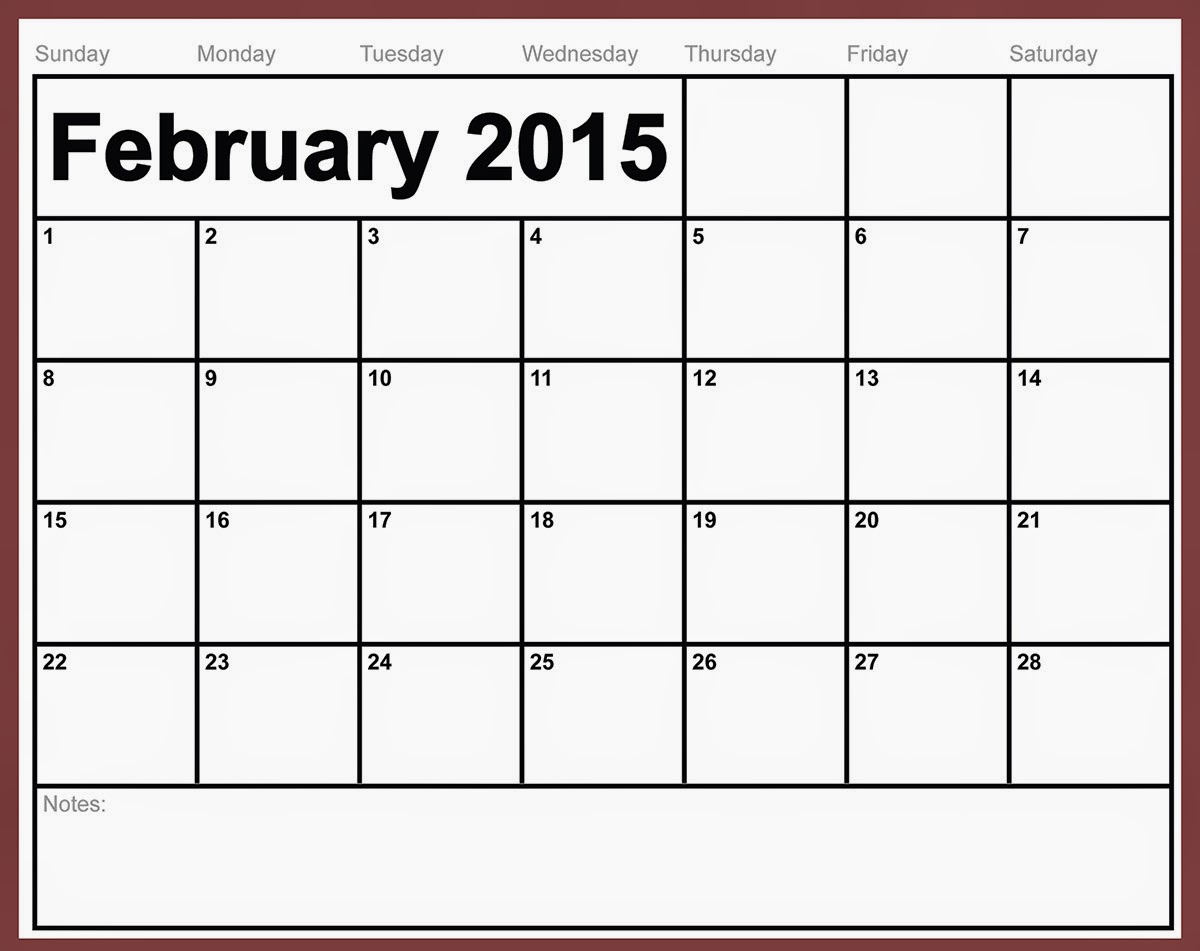 Free printable calendar 2018 free printable calendar february its new year and we have another great design and template of our calendar for this 2015 and in this february 2015 enjoy saigontimesfo