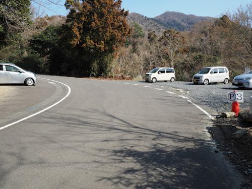 登山道が近くにあり