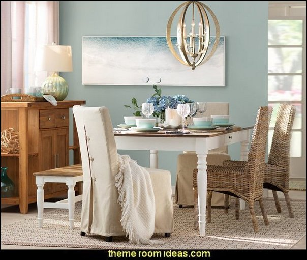 Decorating theme bedrooms maries manor coastal - Serene traditional cottage in natural theme ...