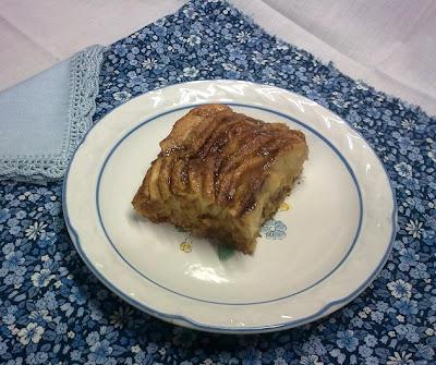 Tarta de Manzana Alemana con Canela