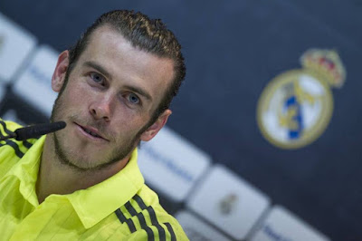 Gareth Bale del Real Madrid