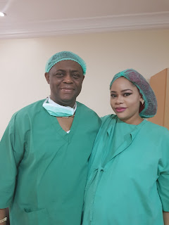 Femi Kayode's Wife Gave Birth To Triplets Today