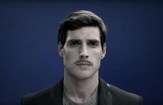 Pencil-thin Mustache.