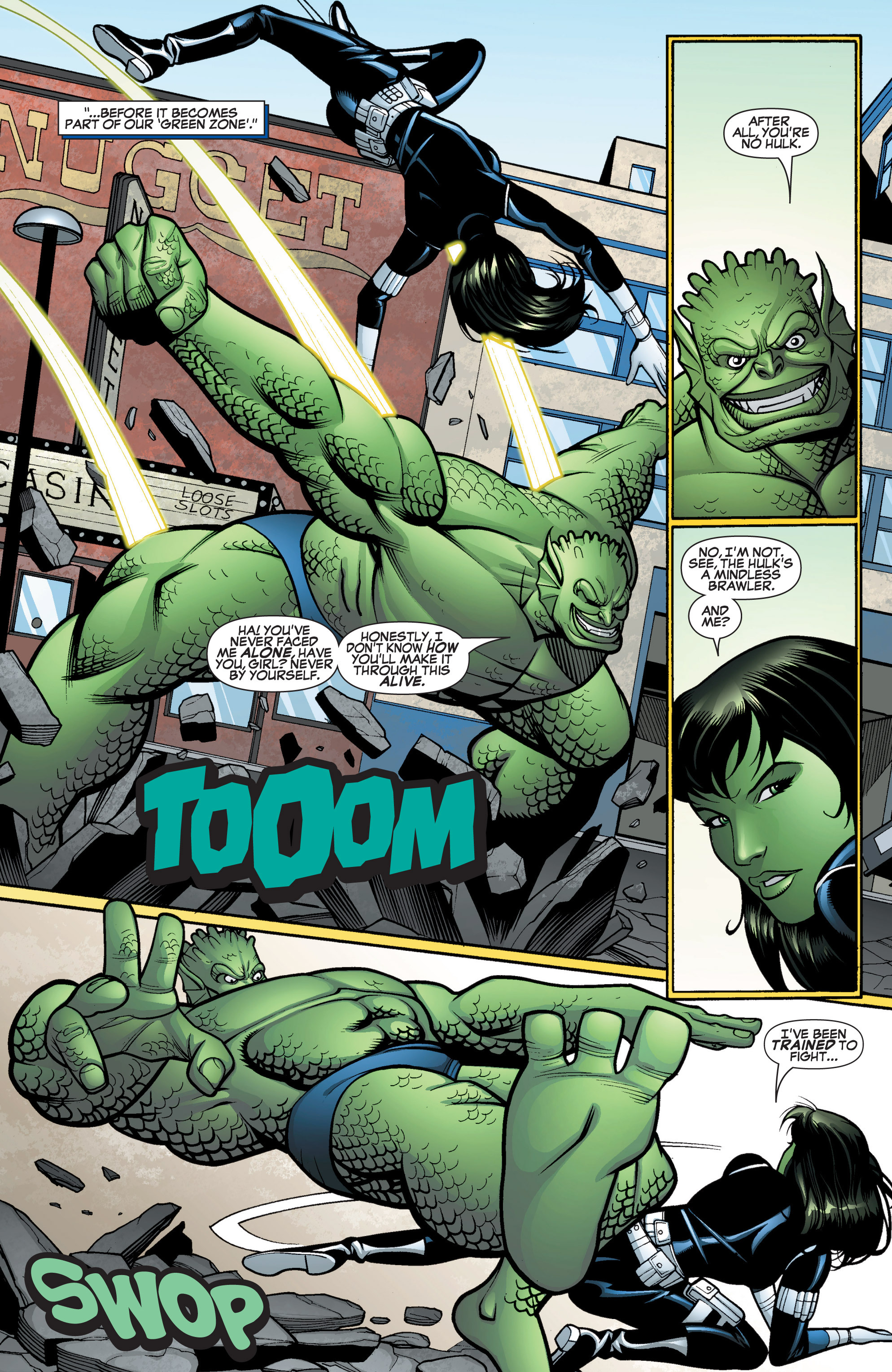 Read online She-Hulk (2005) comic -  Issue #15 - 14