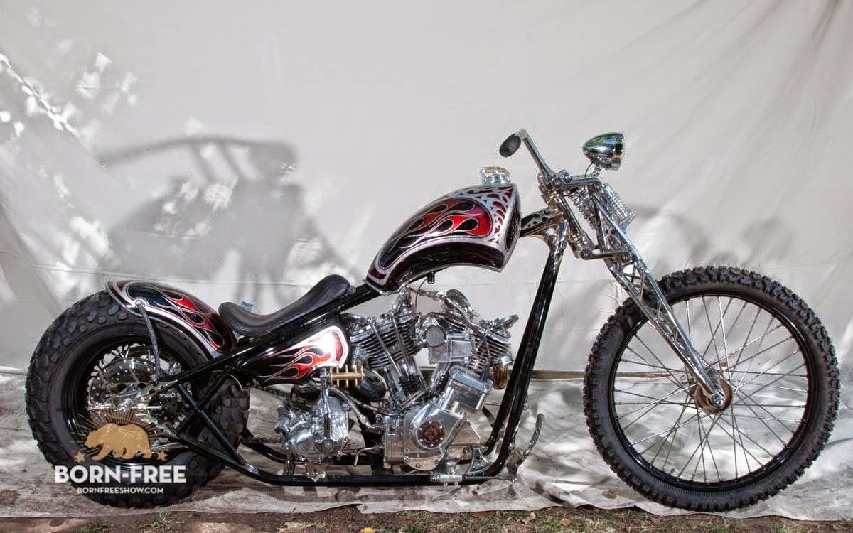 Born-Free Motorcycle Show: BF7 Invited Builder : Paul Cox