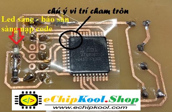 Hướng dẫn nạp code cho chip 89s52 dán (89s52_24AU) ~ eChipKool SHOP | CTY Điện Tử eChipKool