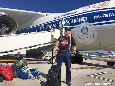 Buzz Aldrin Heading to South Pole