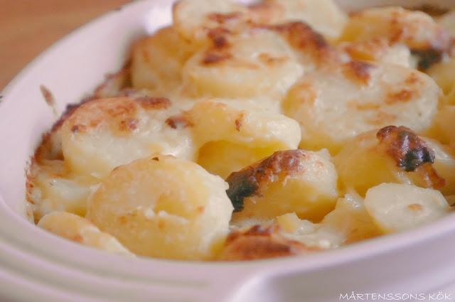enkel potatisgratäng